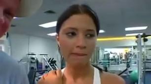 Huge Phat Juicy Booties Sophia Castello At The Gym