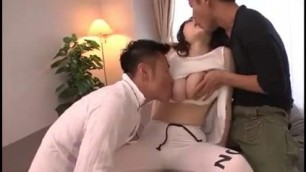 Sexy Asian Plays With Her Boobs