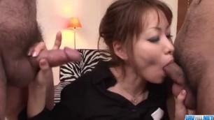 Rika Kurachi in rough bondage action along horny males - More at javhd.net