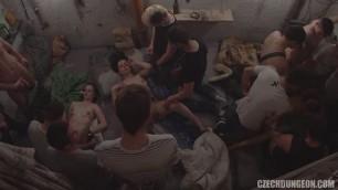 Czech Dungeon 6 Part 3 Wifes Giving Hand Jobs