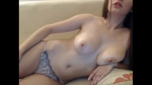 Cute Teen Masturbates For The First Time