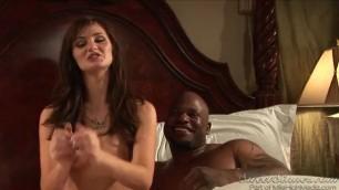 Brunette porn star talking about her interracial scene Porn Video at XXX Dessert Tube MP4