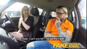 Fake Instructors Hot Car Fuck With Busty Blonde Georgie Lyall