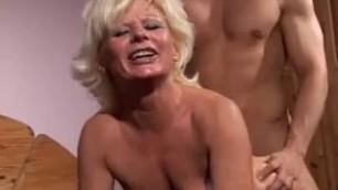 Stunning Blonde Sucks Dick Hardcore