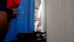 Flash Dick Fitting Changing Room Guy