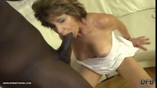 Huge Ebony Dick For Mature Whore