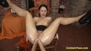 extreme double hand anal fisting