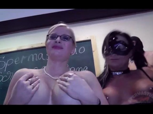 School of Gangbang 5 part 2 Melanie Moon Jessy Cumbitch and Dirty Pueppy SpermaStudio