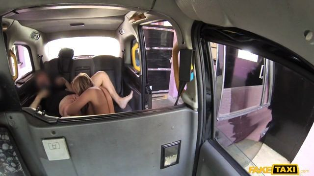 FakeTaxi Stacey Saran Dirty slut Long Legs Tattoos and Great Tits